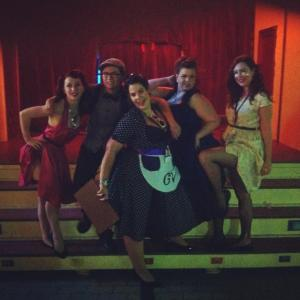 Team Lady Velvet Cabaret post show shenanigans!