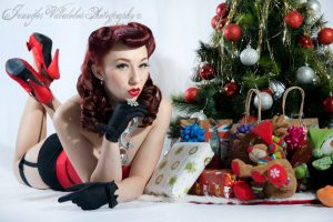 Pinup Model: Lady Lace - Photography: Jennifer V Photography