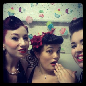 Lady Lace, Rosie Boudoir, & Sugar Du Jour after promoting MPA!