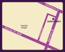 Hurly Burly's location!