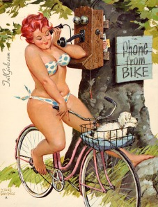 Hilda, the curvaceous pinup showing beauty doesn't have a size.