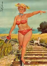 Hilda the plus sized pinup.