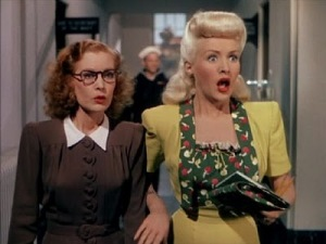 Kay Pritchett (Dorothea Kent) & Lorry Jones (Betty Grable)
