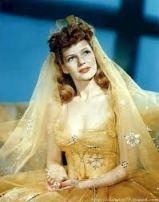 Rusty played by Rita Hayworth