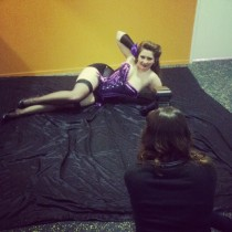 Megan posing up a storm for Jennifer V Photographer.