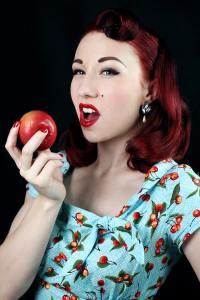 Pinup Model: Lady Lace Photographer: Luke Milton Photography