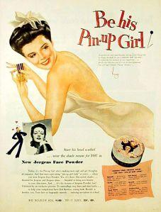 Vintage makeup advertisement