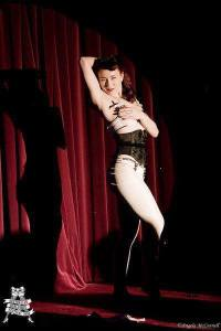 Myself perform at The Australian Burlesque Festival.