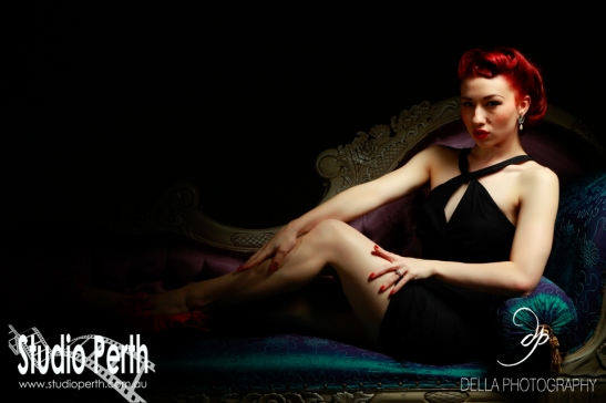 Pinup Model: Lady Lace | Photography: Della Photography