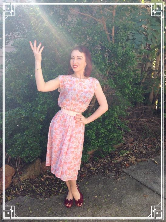 Cute vintage day dress from The Rabbit and the Fox.