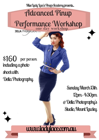 Advanced Pinup Performance Course