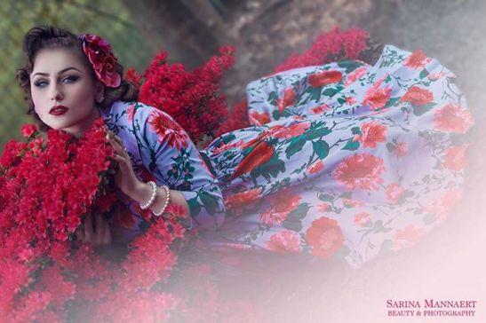 Acid Doll wearing Pinup Girl Clothing