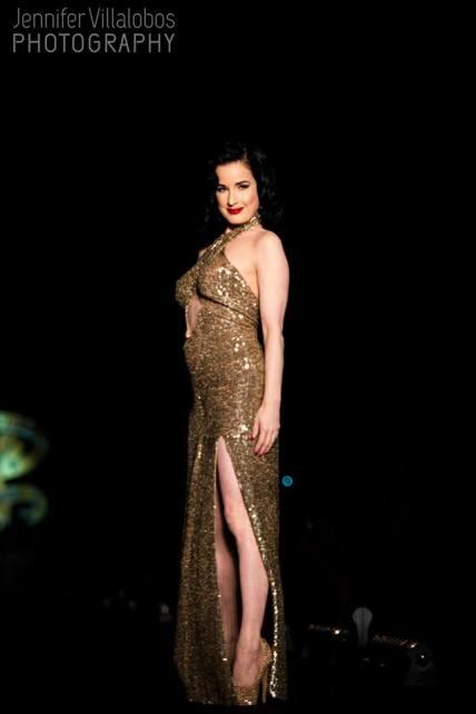 Photo of Dita Von Teese by Jennifer Villalobos Photography!