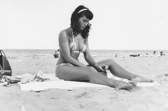 Bettie on Beach