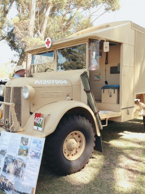Wartime ambulance.
