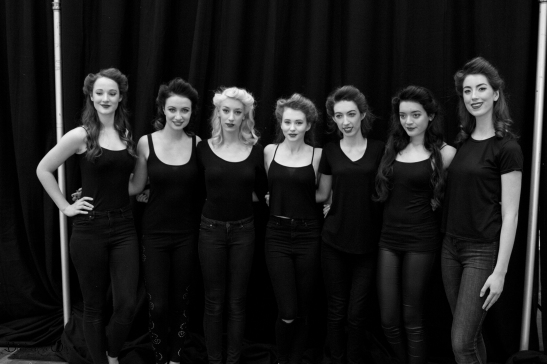 Some of the beautiful models from last year's event.