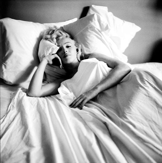 marilyn in bed