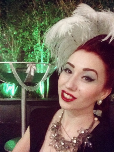 Before doors opened at the Steampunk Ball.