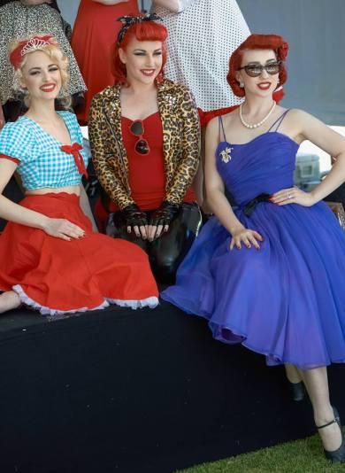 Dolly Von Blonde, Wild Kat & Miss Lady Lace